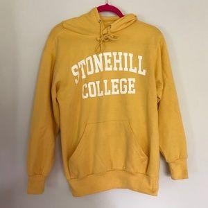 Yellow College Sweatshirt
